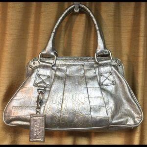 Simple Vera Silver Handbag